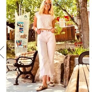J. Brand 'Joan' High Waist Wide Leg Jeans - Sz 32